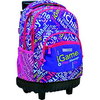 Istyle Compact Fixed carriage Purple (Toys , School Zone , Backpacks)