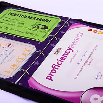 My Proud Moments Certificate Holders Extra Pages (Pack of 4) - Gymnastics