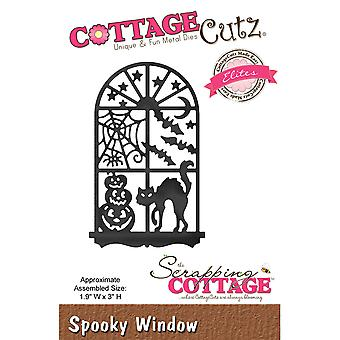 CottageCutz Elites Die -Spooky Window, 1.9