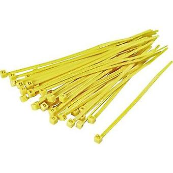 Cable tie 100 mm Yellow KSS 1369076