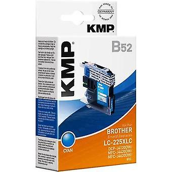 KMP Ink replaced Brother LC-225XLC Compatible Cyan B52 1530,0003