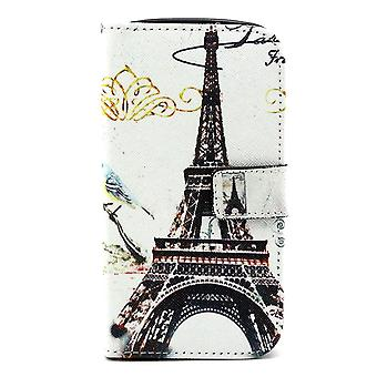 Cover the Eiffel Tower in Black PU skin for Kiritkumar Lenny supported and door cards
