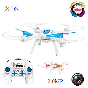 Buddy Toys Drone Quadcopter Aircraft X-16 Hd 2 Megapixel Camera