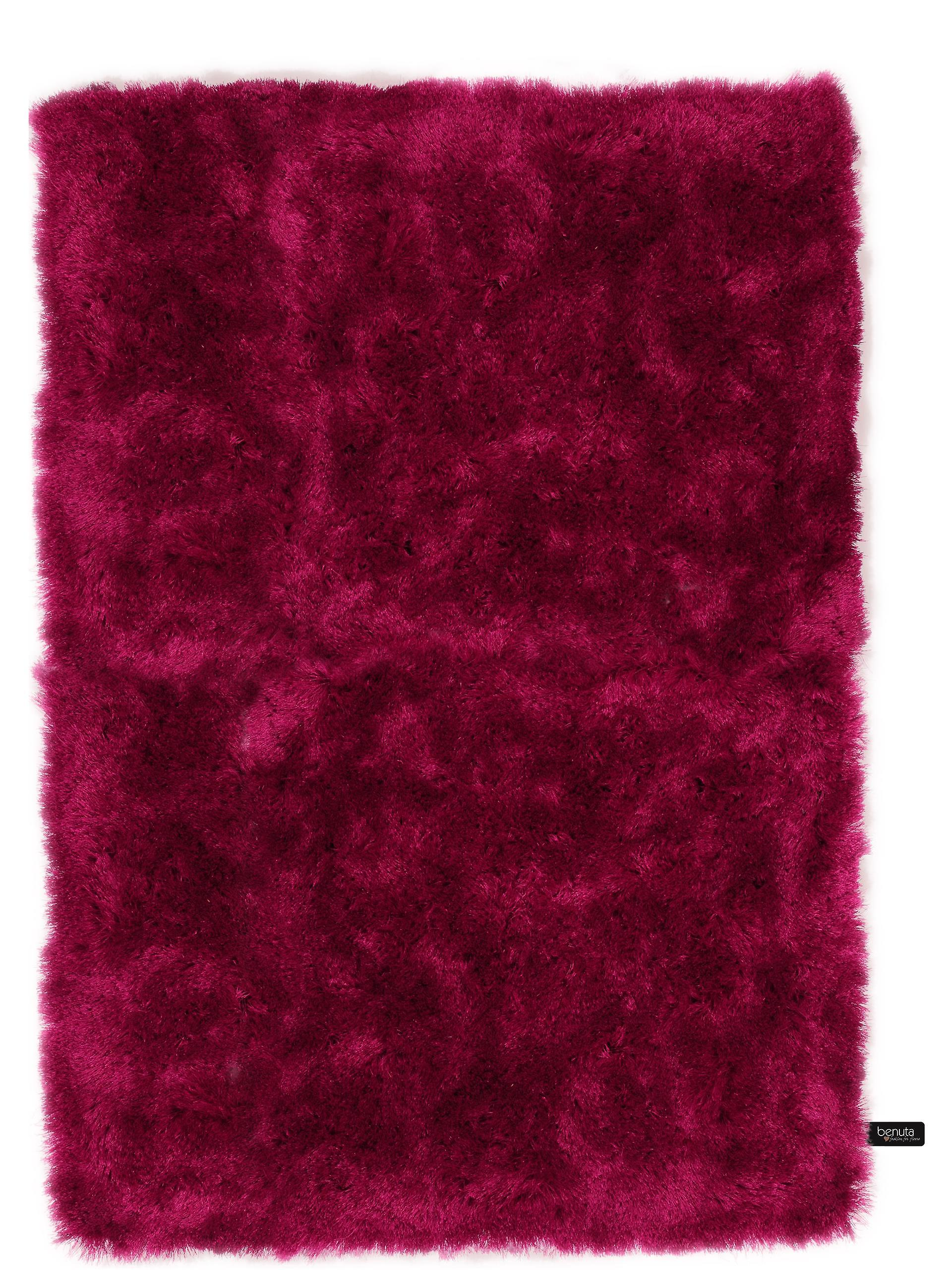 benuta Shaggy Whisper tapis rose