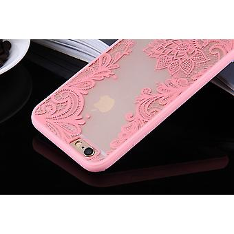 Mobile Shell mandala for Huawei P9 Lite design case cover motif flower cover case bumper pink