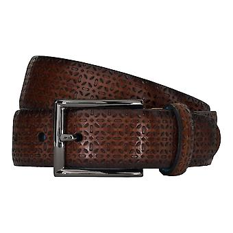SAKLANI & FRIESE belts men's belts leather belt Brown 5125