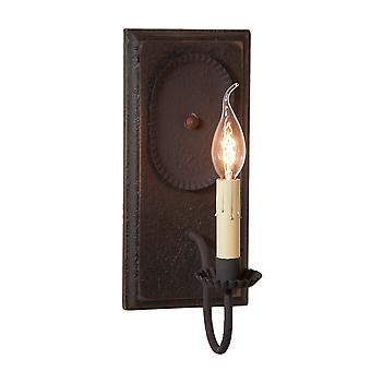 Wilcrest Sconce in nero