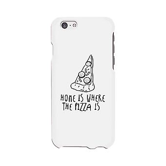 Home Where Pizza White Ultra Slim Phone Cases For Apple, Samsung Galaxy, LG, HTC