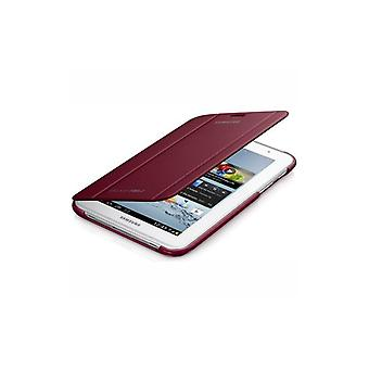 SAMSUNG Tab2 7.0 Book-Cover Red EFC-1G5SRECSTD