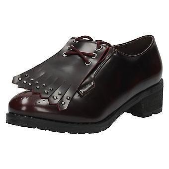 Дамы на месте Башмак обувь / бахрома подробно F9818