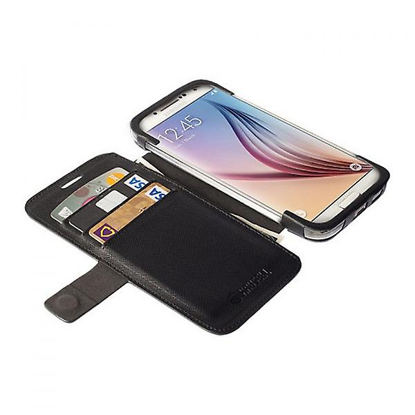 Krusell BookCover bag case Malmö stand for Galaxy S6 S6 edge black