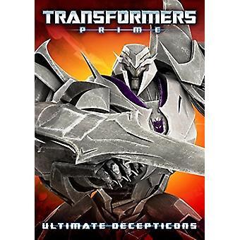 Transformers Prime: Ultimate Decepticons [DVD] USA import