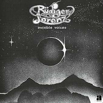 Rudiger Lorenz - usynlige stemmer [CD] USA import