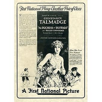 Hertiginna av Buffalo (1926) [DVD] USA import