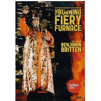 Benjamin Britten - Benjamin Britten: Burning Fiery Furnace [DVD] USA import