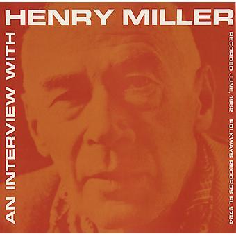 Henry Miller - intervista con Henry Miller [CD] USA importare