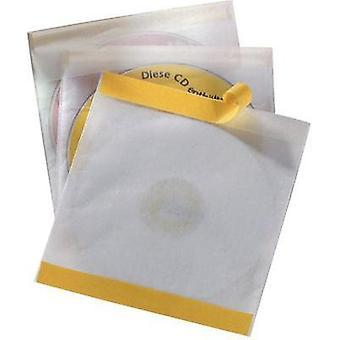 CD/DVD-COVERS SELF ADHESIVE 10TH-SET