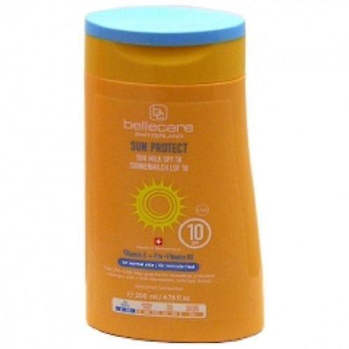 Peau X 200ml E 10 3 B5 Bellecare Lait Vitamine Pro Sun Normale La Spf vitamine 34RjA5L