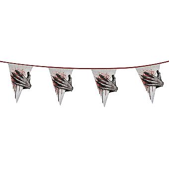 Horror Hand 6m Giant Bunting Halloween Party Decoration Accessory/ Supplies