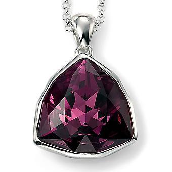 925 Silber Swarovski Kristall Halskette Trend