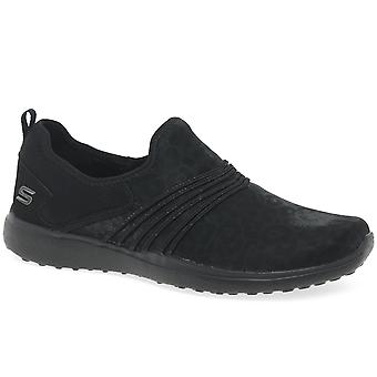 Skechers Micro Burst Under Wraps Womens Sports Shoes