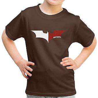 Na Na Batman Dark Knight Bat Logo White Kid's T-Shirt