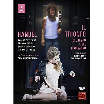 II Trionfo Del Tiempo E Del Disinganno [DVD] USA import