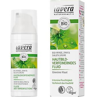 Lavera Moisturizing fluid mint fat skins 50 ml
