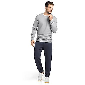 Mens round neck sweatshirt · · · · · · grey long sleeve
