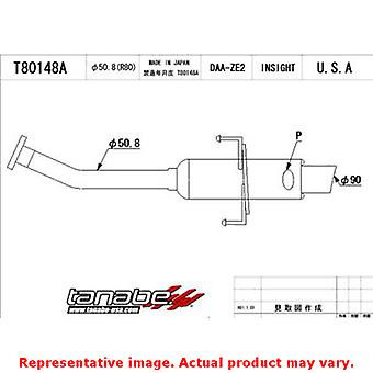 Tanabe Medalion Exhaust - Concept G T80148A Fits:HONDA 2010 - 2013 INSIGHT