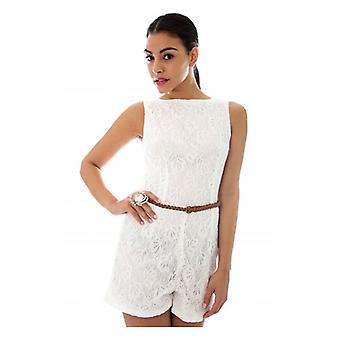 The Fashion Bible Kaise Lace Playsuit