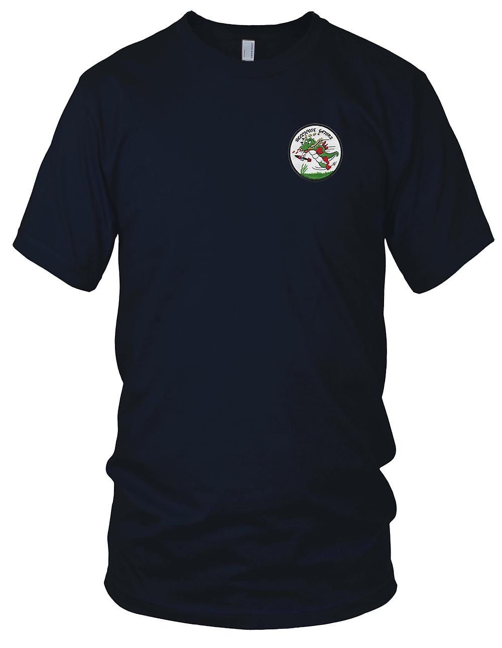 US Navy VF-822 Embroidered Patch - Bellicose Gators Ladies T Shirt