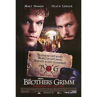 Bröderna Grimm filmaffischen (11 x 17)