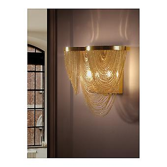 Schuller Minerva Wall Lamp 2L. Gold