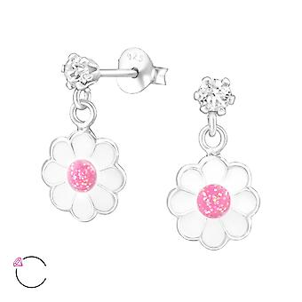 Hanging Flower crystal from Swarovski® - 925 Sterling Silver Children's Jewellery