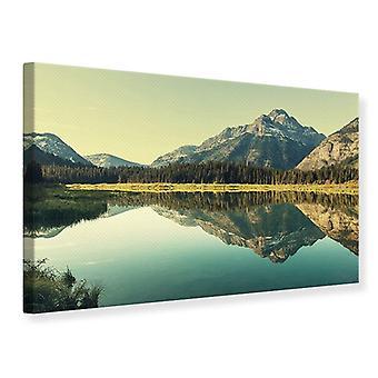 Canvas Print The Lake