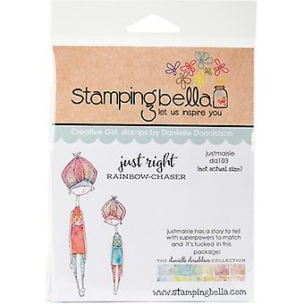 Stamping Bella Danielle's Rubber Stamps-Just Maisie DD103