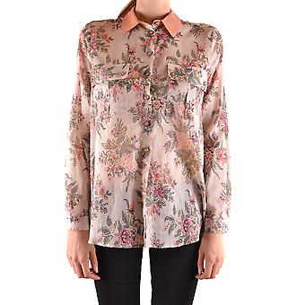 Twin-set ladies MCBI302193O multicolour cotton shirt