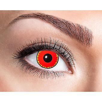Demon Devil zombie Halloween contact lenses