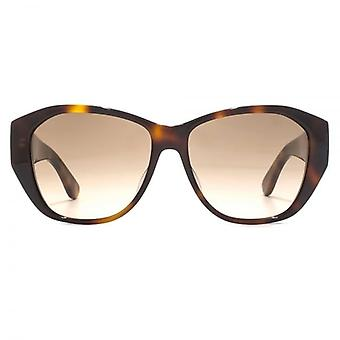 Saint Laurent SL M8 Sunglasses In Havana