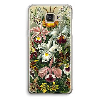 Samsung Galaxy A5 (2016) Transparent Case - Haeckel Orchidae