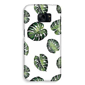 Samsung S7 Full ut fallet - tropiska löv