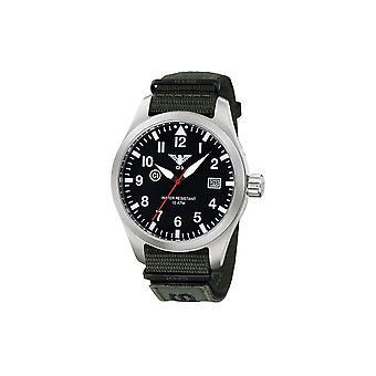 KHS horloges mens watch Airleader staal KHS. VOOR HET EERST UITGEZONDEN. NXTO1