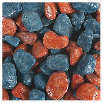 Tyrol Varnished Petrol Blue Terracotta Mixed Gravel (Fish , Decoration , Gravel & sand)