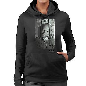 Angelic Upstarts Mensi Flower Women's Hooded Sweatshirt