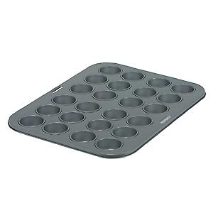 Swift Bakers Pride 24 Cup Mini Muffin Pan Non-Stick 17841116