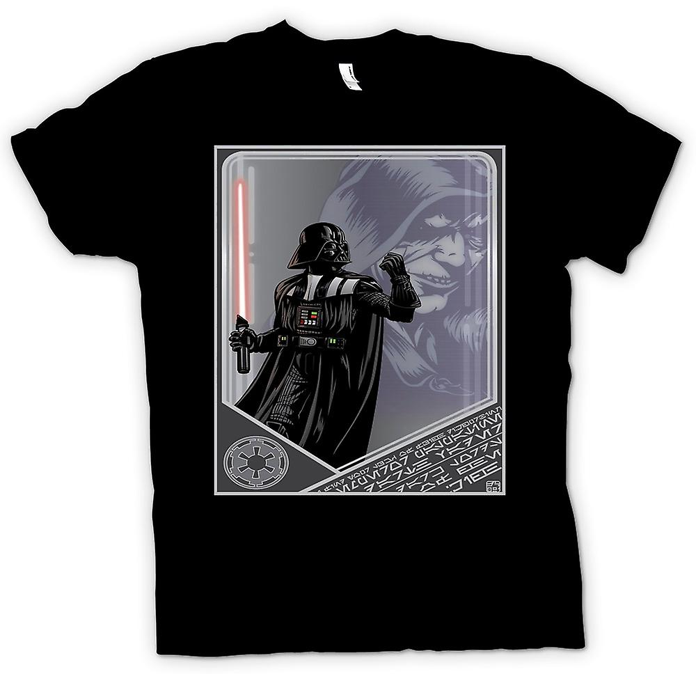 Womens T-shirt - Darth Vader & Palpatine - Japanese