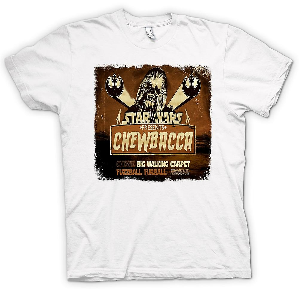 Womens T-shirt - Star Wars - Chewbacca Teppich