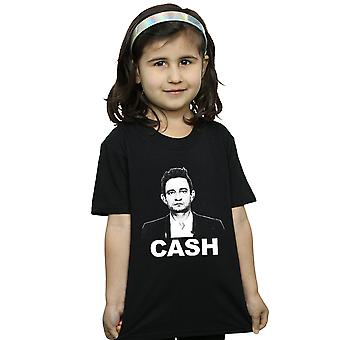 Johnny Cash Girls Straight Stare T-Shirt
