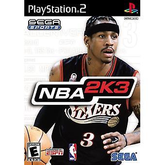 NBA 2K 3 (PS2)
